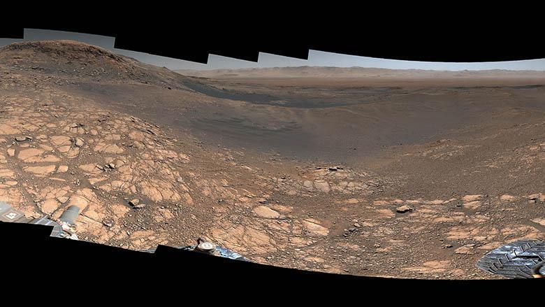 تماشا کنید: باکیفیت ترین پانوراما از مریخ متشکل از هزار عکس و 1.8 میلیارد پیکسل