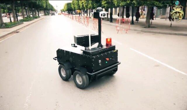 در تونس ربات ها دستور قرنطینه می دهند