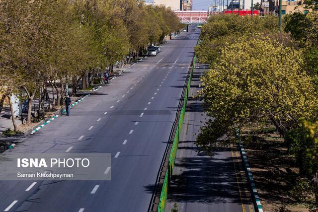 تمدید ممنوعیت ورود به بوستان ها و پارک های اصفهان تا 20 فروردین