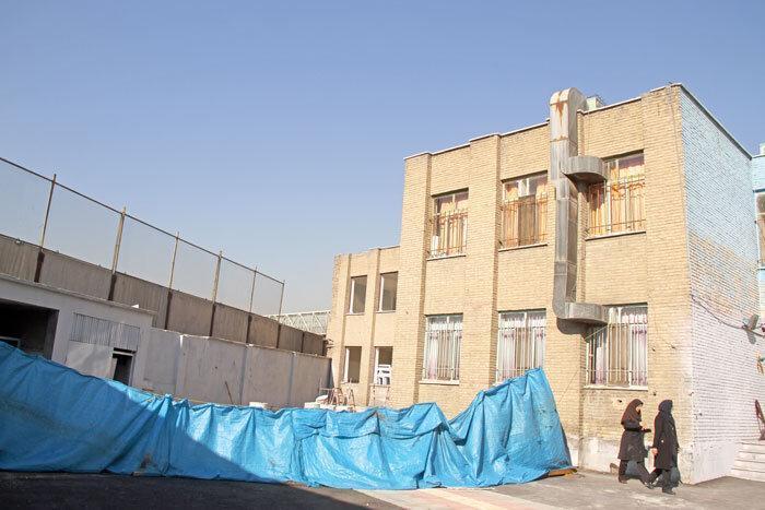 ساخت مدرسه در روستای مقیم آباد