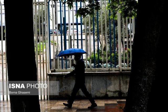 هشدار هواشناسی نسبت به رگبار باران و وقوع گرد و خاک در برخی استان ها