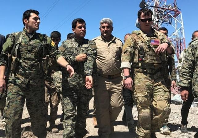 پیشروی آمریکا در سوریه یا یک اقدام دیگر