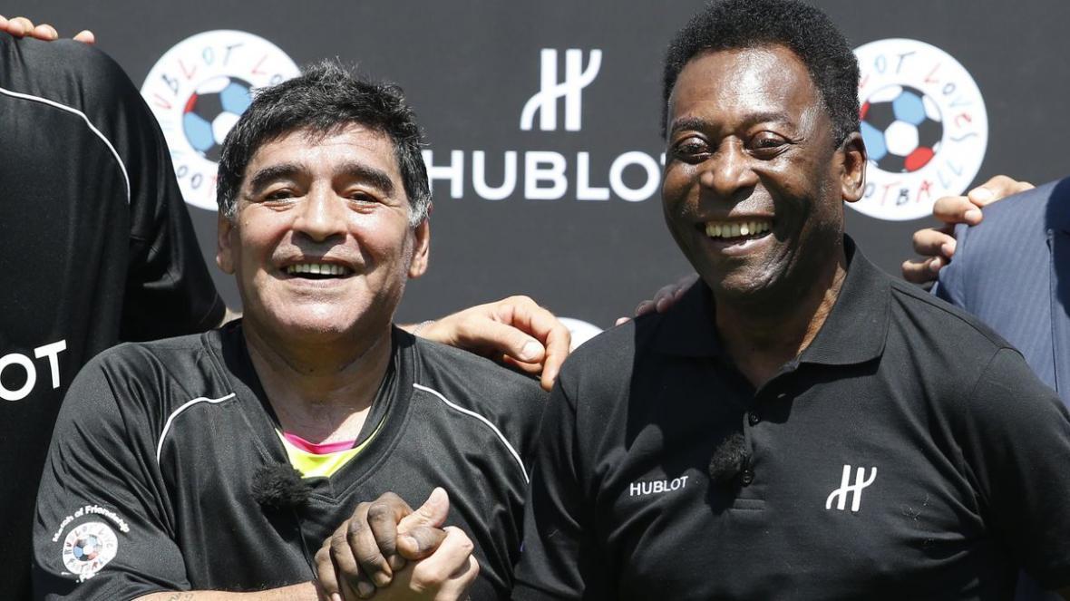 واکنش پله به درگذشت غم انگیز دیگو مارادونا